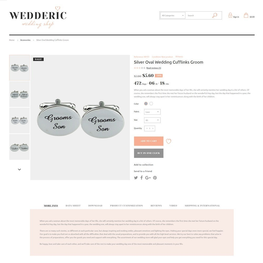theme - Presentes, Flores & Comemorações - Wedderic - Wedding Shop - 8