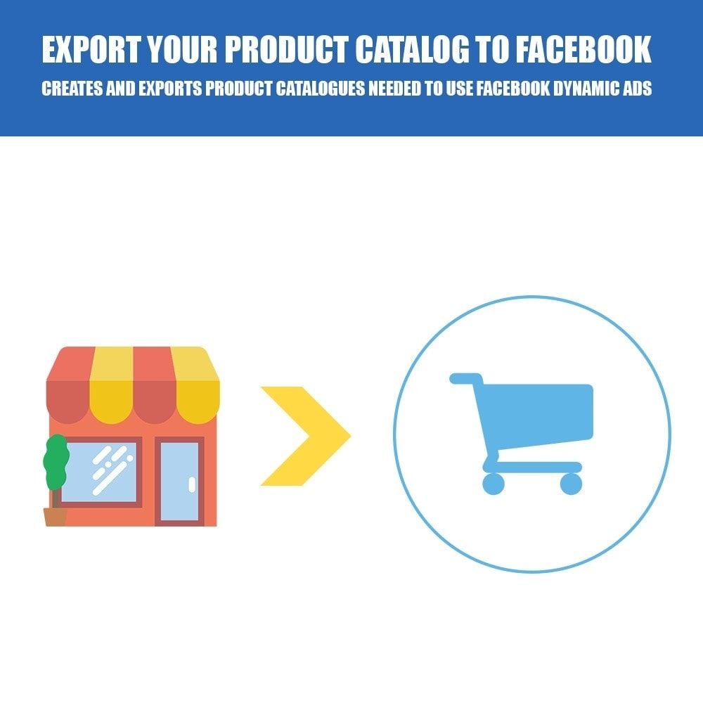 module - Products on Facebook & Social Networks - Export Your Product Catalog for Dynamic Ads - 1