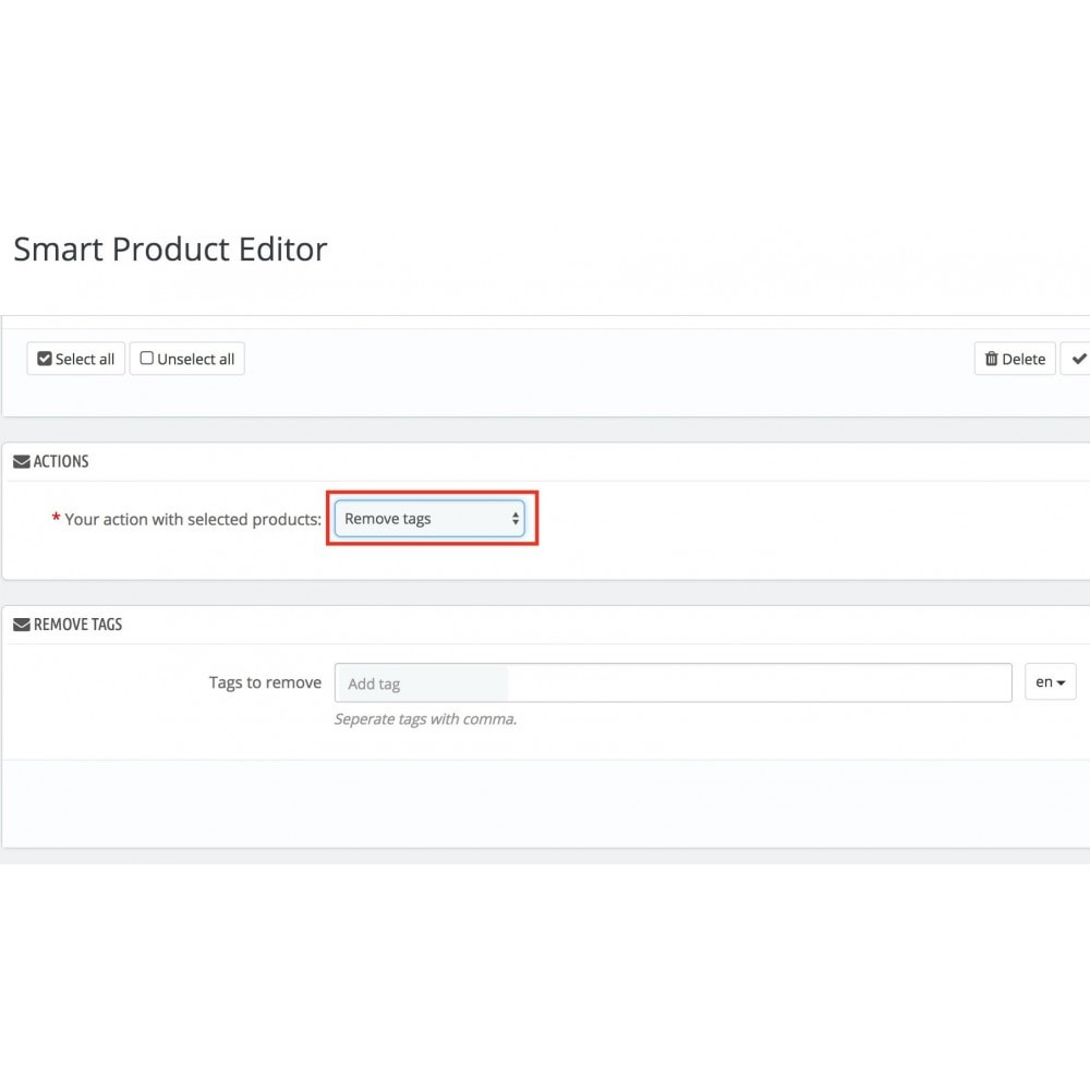 module - Fast & Mass Update - Smart Product Editor - 10