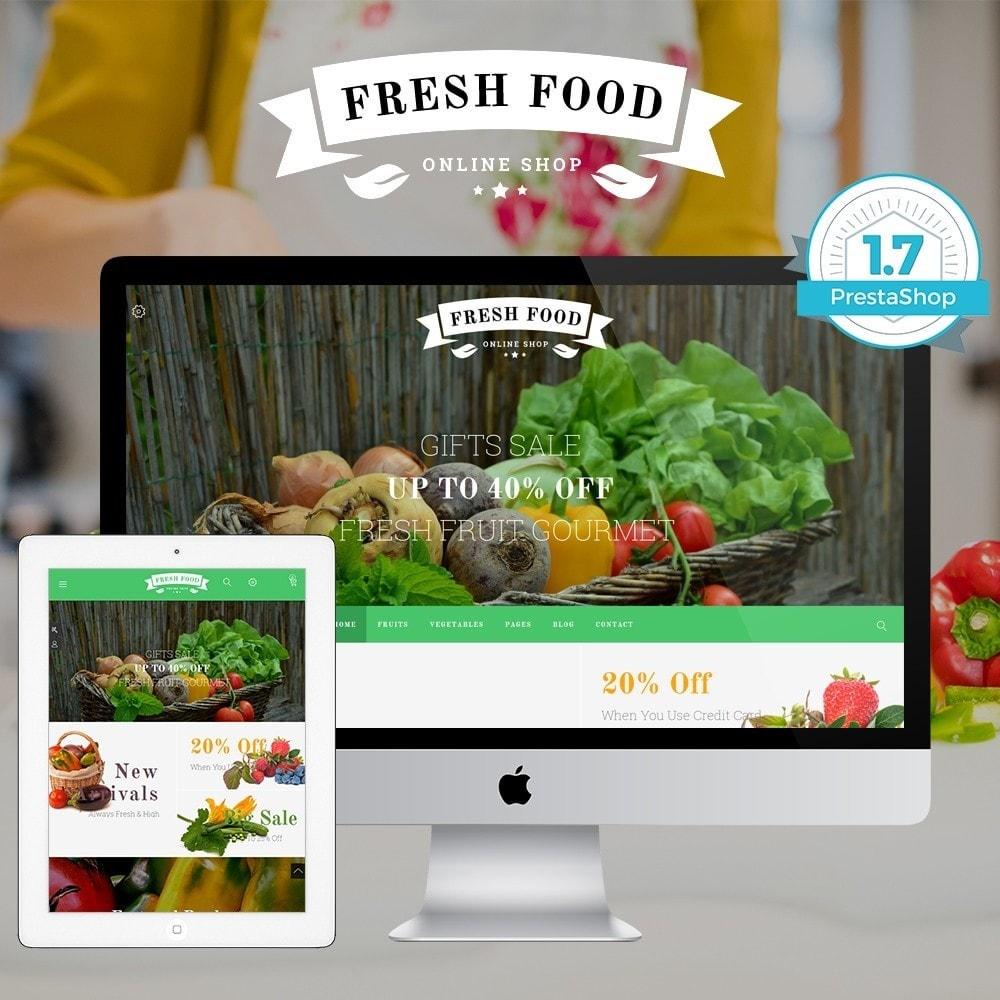 theme - Food & Restaurant - JMS FreshFood II - 1