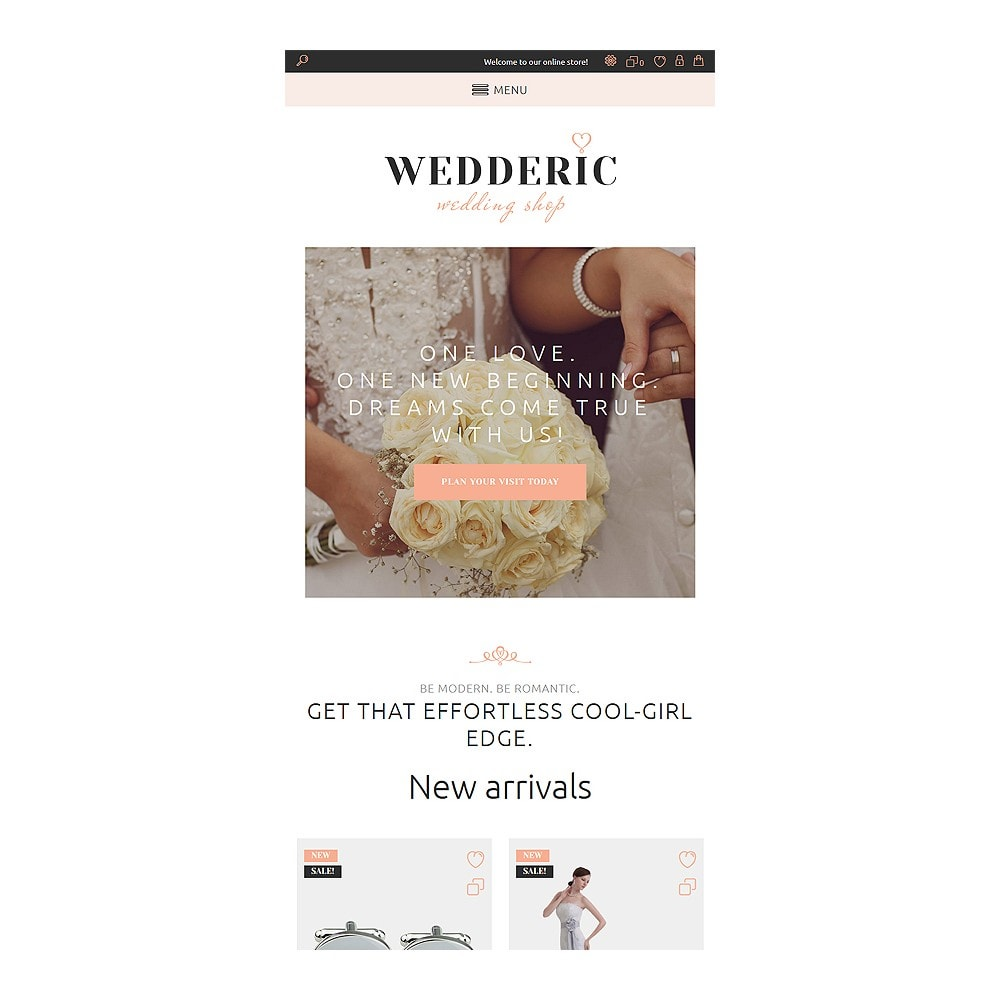 theme - Mode & Chaussures - Wedderic - Wedding Shop Responsive - 3