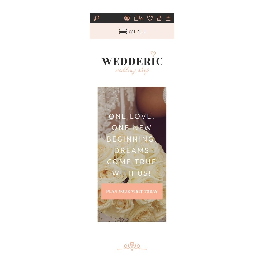 theme - Mode & Chaussures - Wedderic - Wedding Shop Responsive - 5
