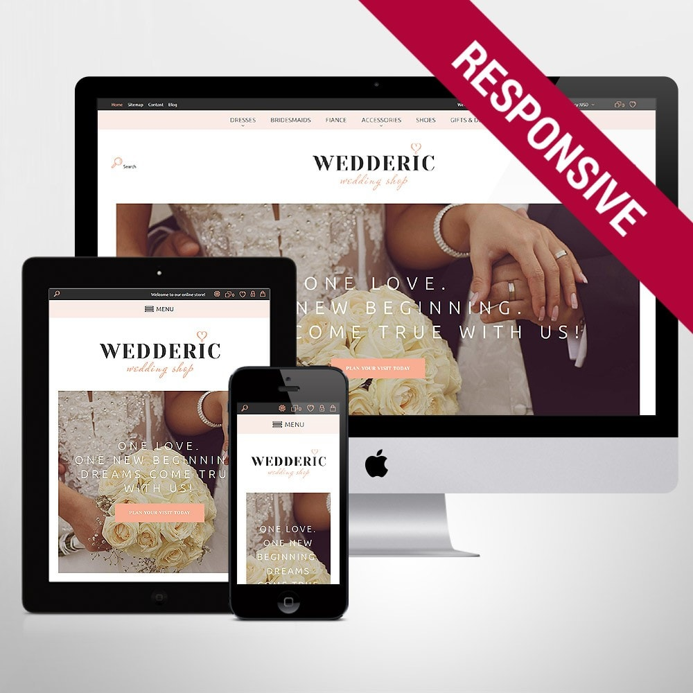 theme - Mode & Chaussures - Wedderic - Wedding Shop Responsive - 8