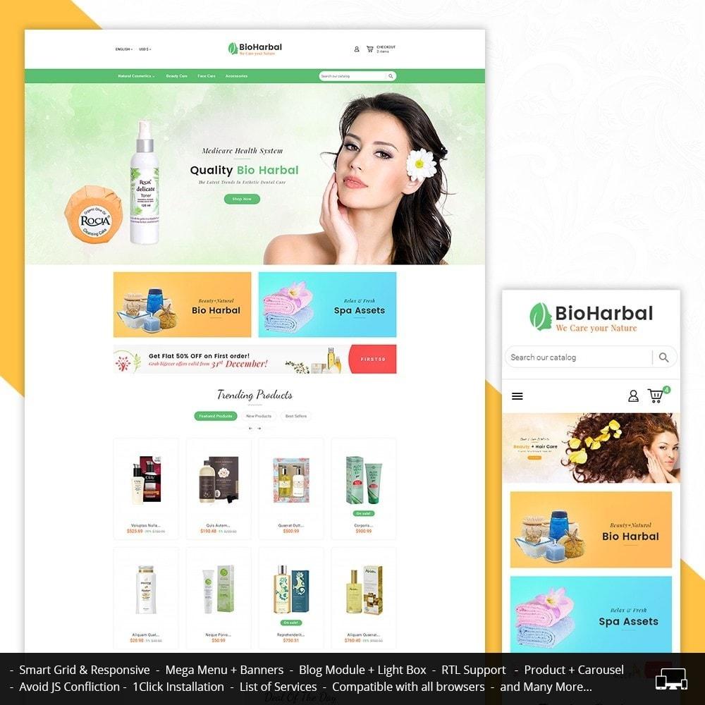 theme - Salud y Belleza - Bio Cosmetics Store - 1