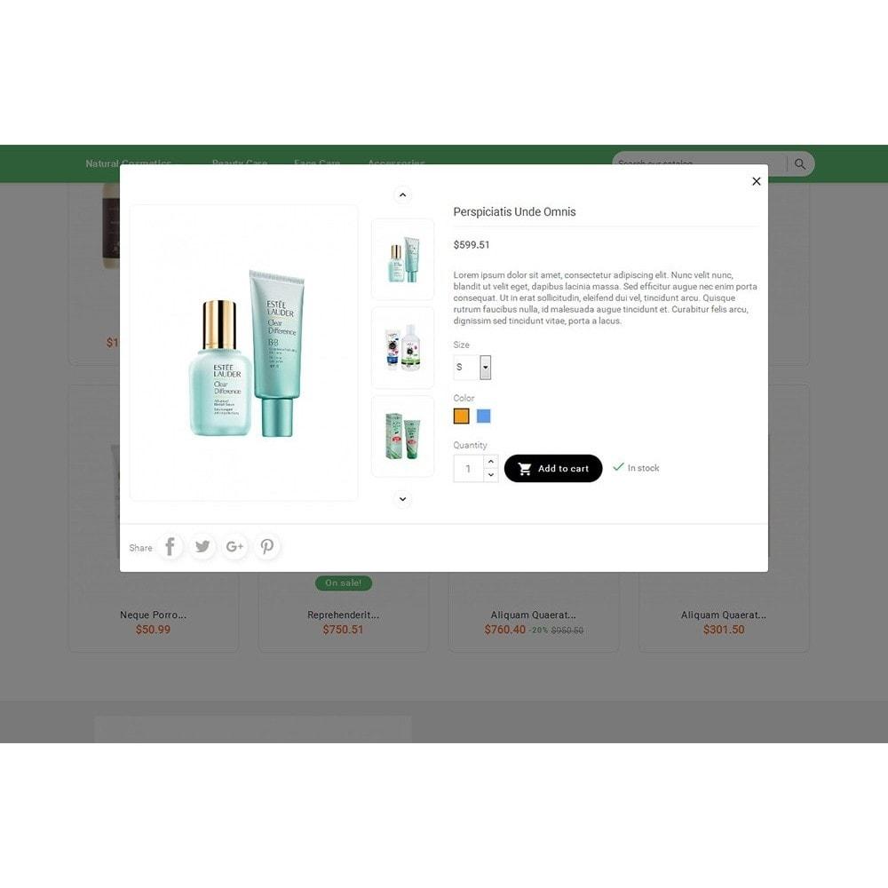 theme - Zdrowie & Uroda - Bio Cosmetics Store - 8
