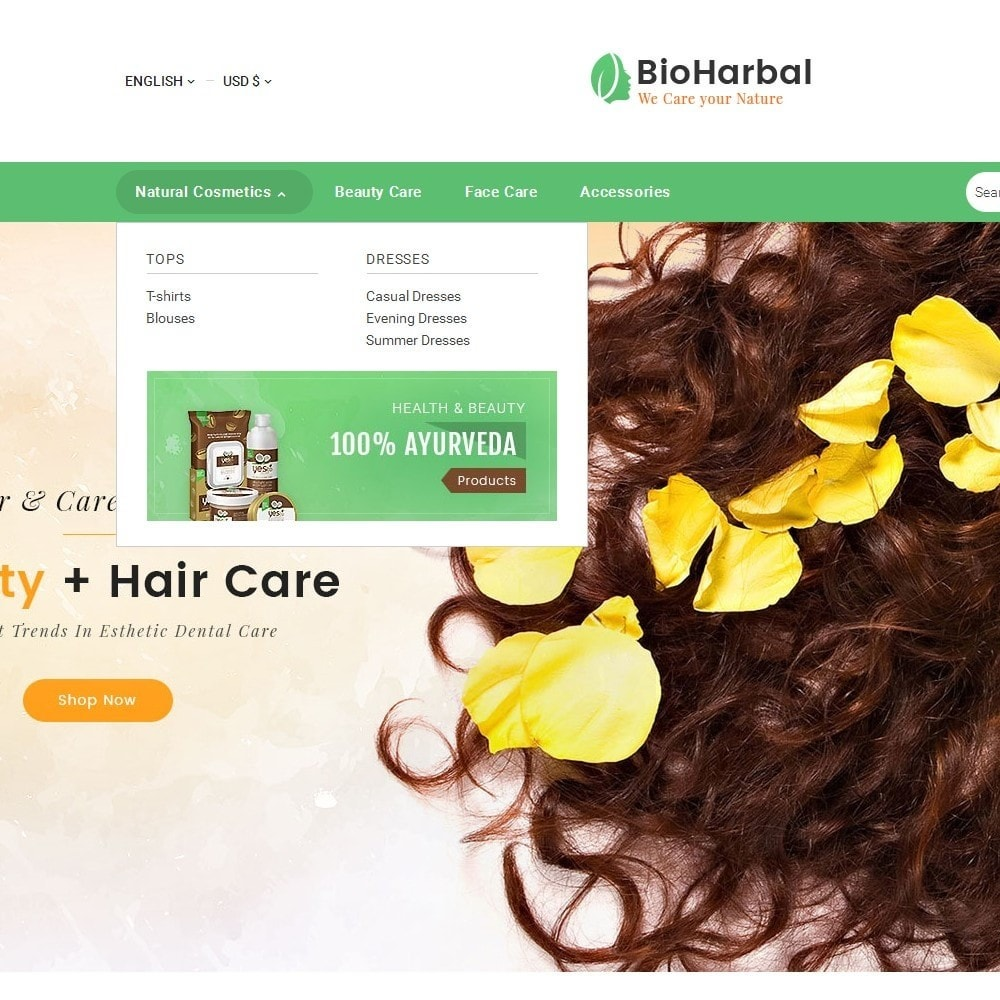 theme - Gezondheid & Schoonheid - Bio Cosmetics Store - 9