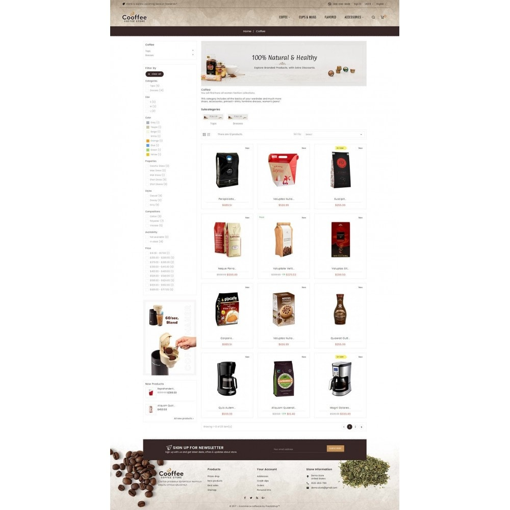 theme - Drank & Tabak - Cold Coffee Store - 3