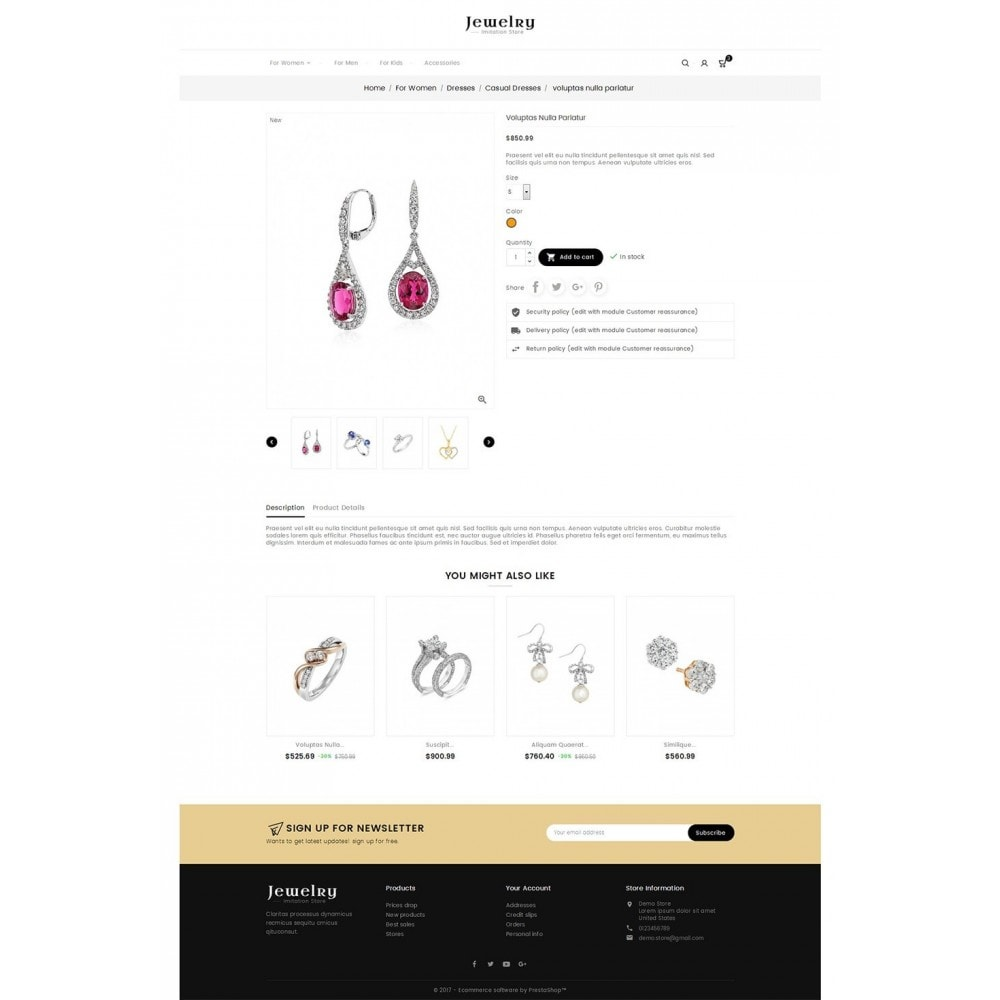 theme - Bellezza & Gioielli - Jewelry Store - 5