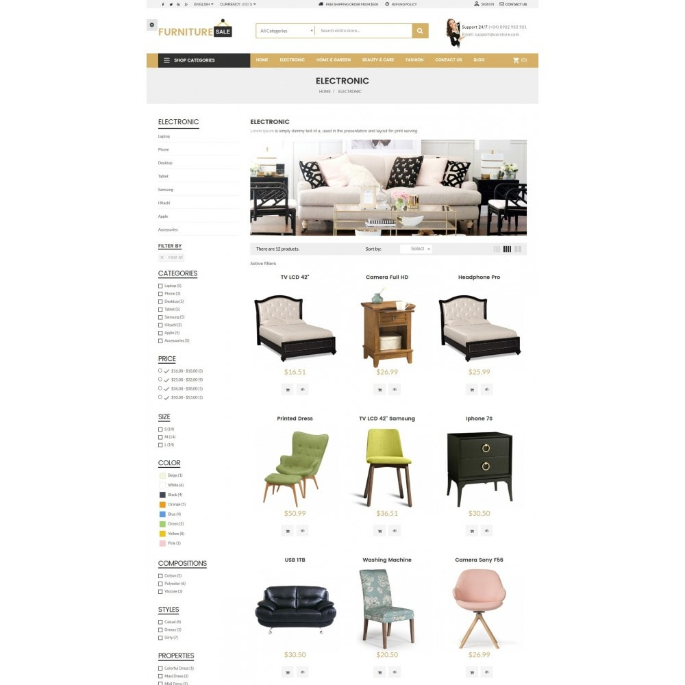 theme - Maison & Jardin - Furniture Save Showroom - 5