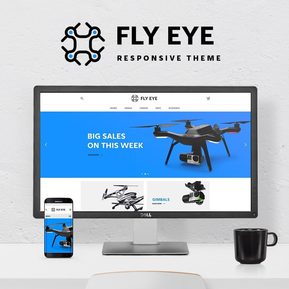 theme - Sports, Activities & Travel - Fly eye - 1