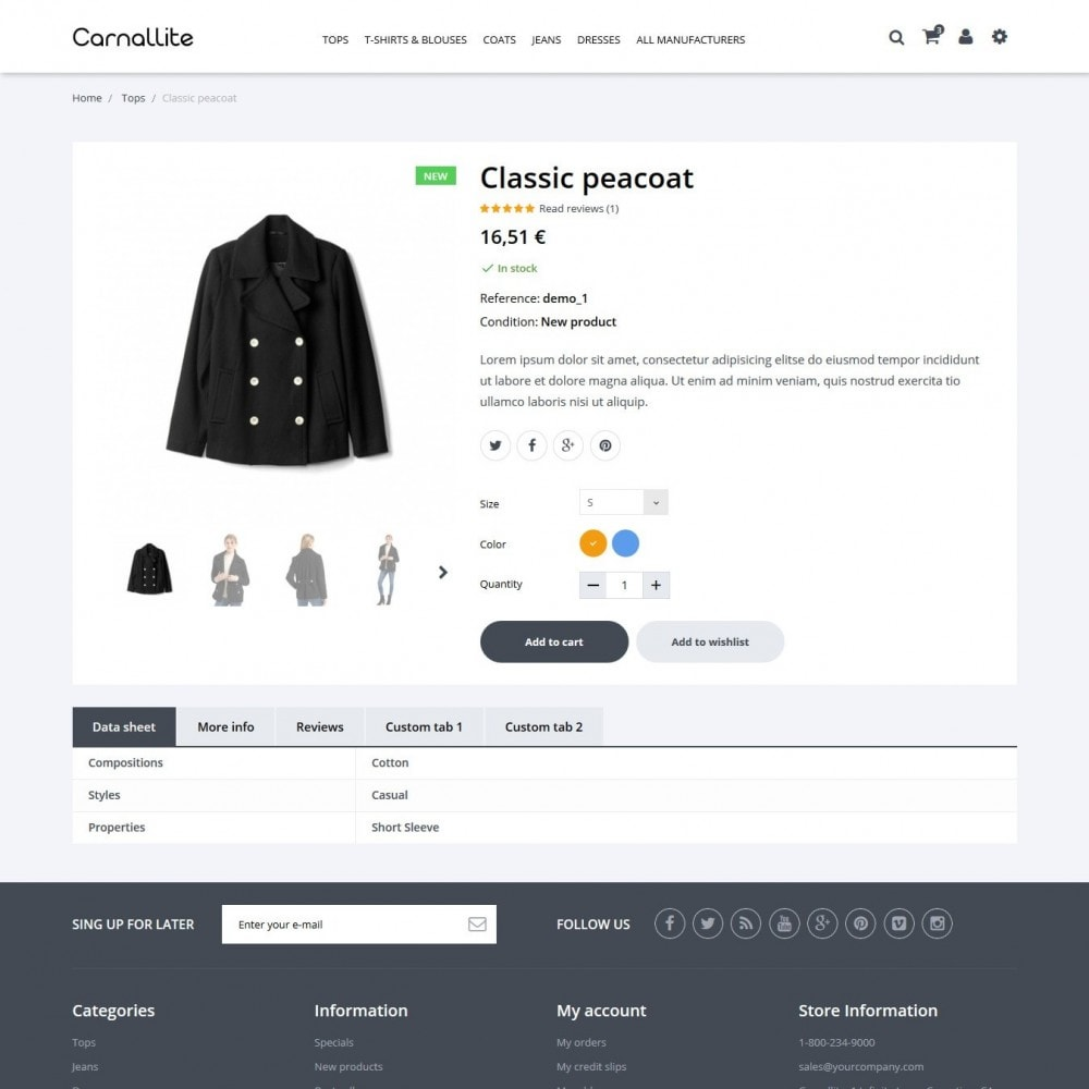 theme - Moda & Calzature - Carnalitte Fashion Store - 7