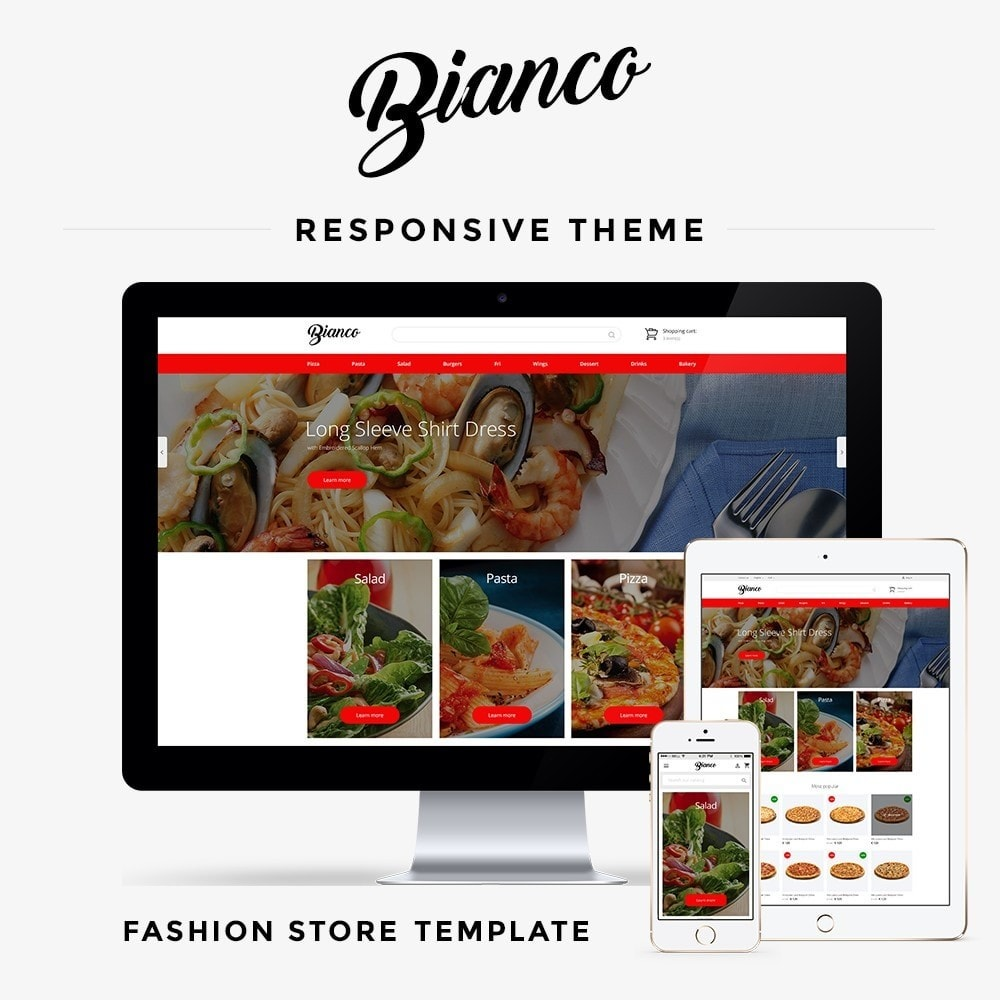 theme - Food & Restaurant - Bianco - 1