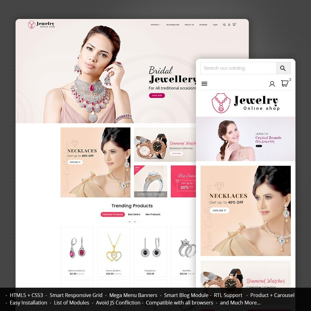 theme - Sieraden & Accessoires - Jewelry Store - 1