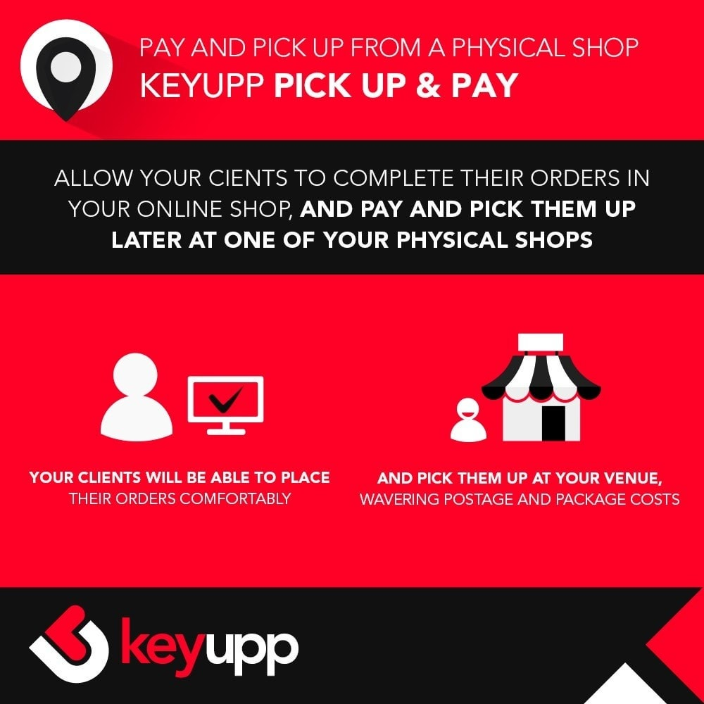 module - Paiement en Magasin - Pick Up & Pay in physical stores - 1