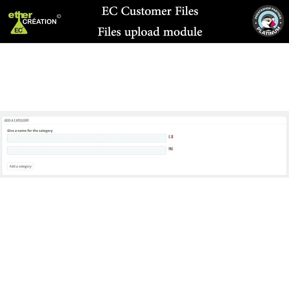 module - Customer Service - Provision of files for customers - 1