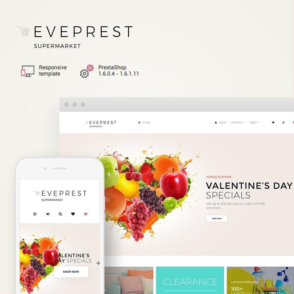 EvePrestSupermarket - Supermarket Online Store