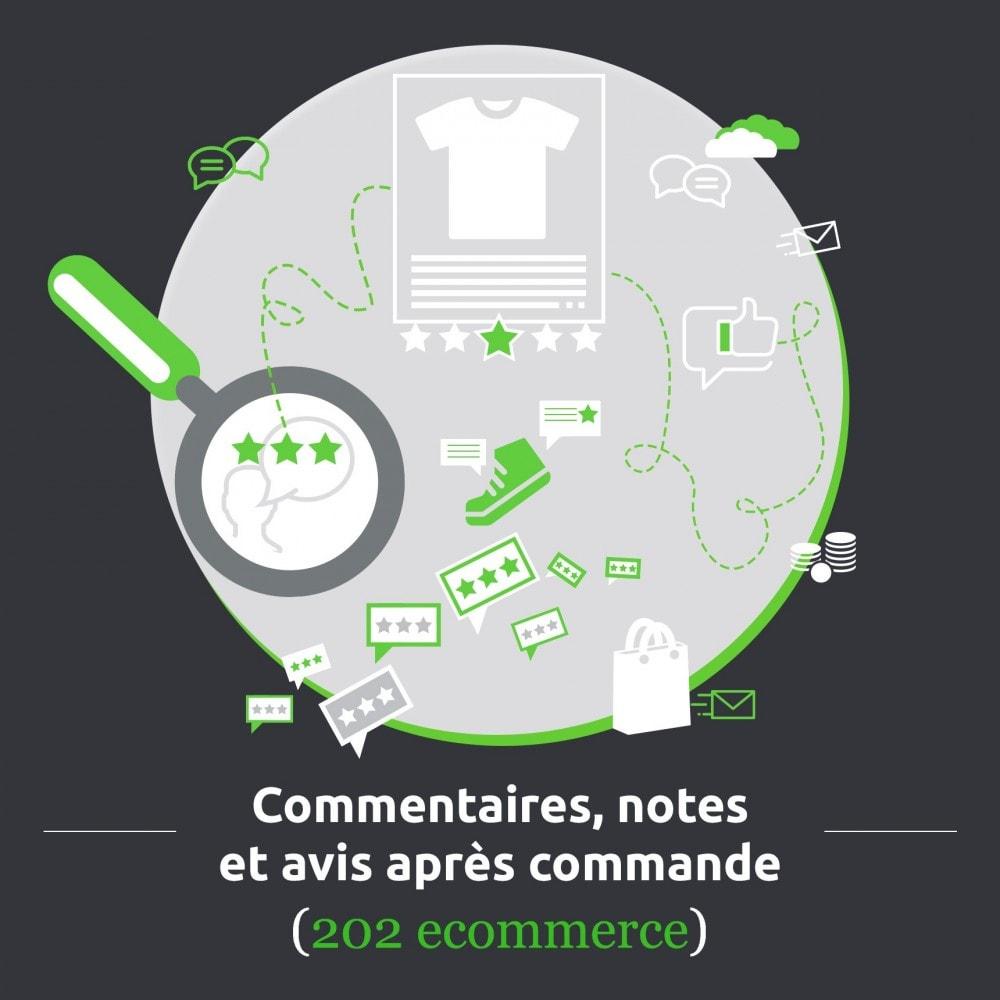 module - Avis clients - Commentaires, notes et avis après commande - 1