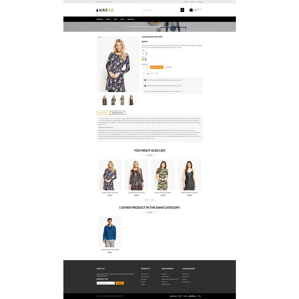 theme - Moda & Obuwie - Krenz - Fashion Store - 5