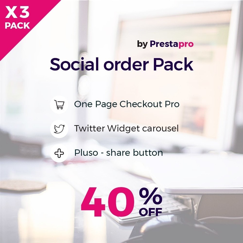 pack - Процесс заказа - Social and Quick order Kit Pack - 1