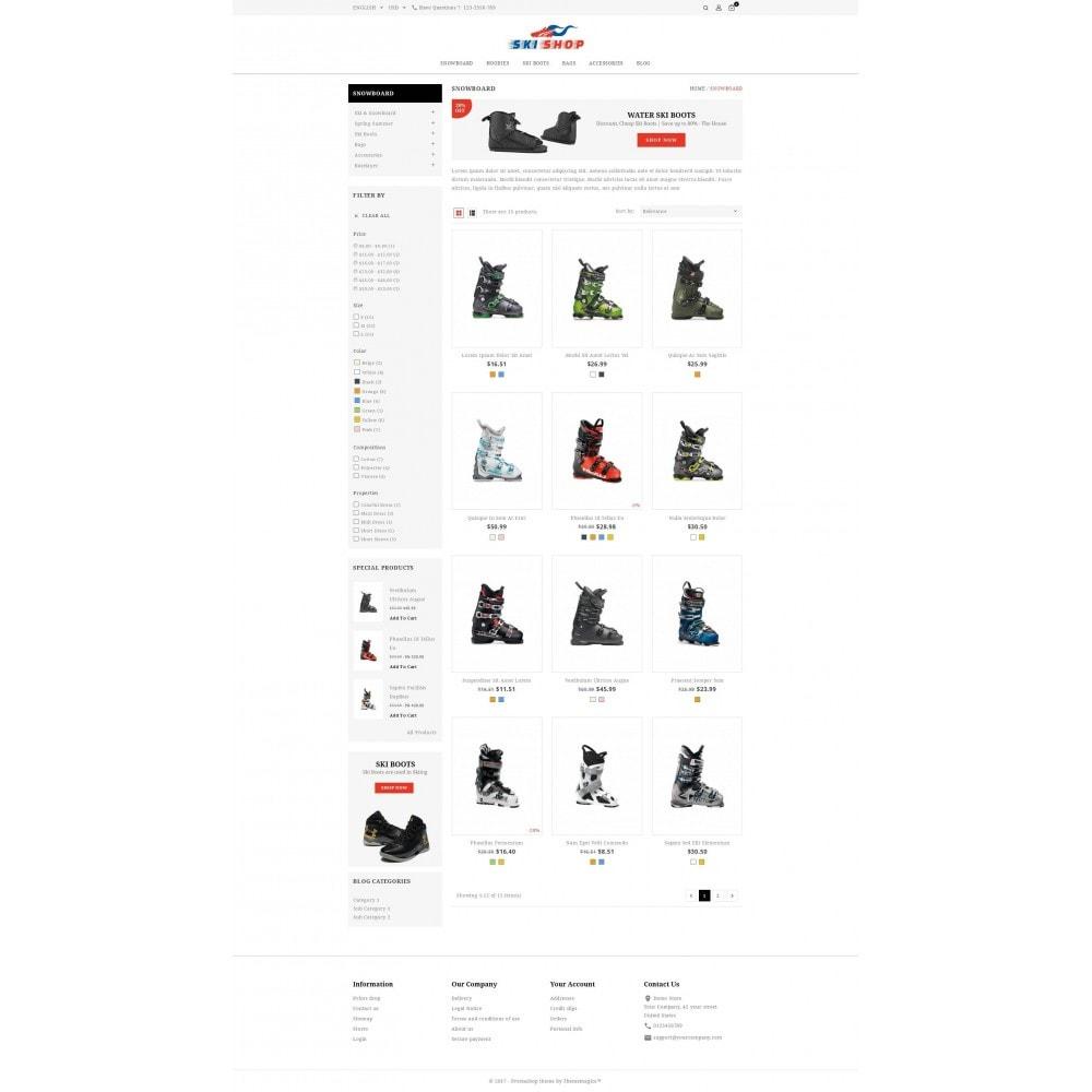 theme - Спорт и Путешествия - Skishop - Online Ski Store - 4
