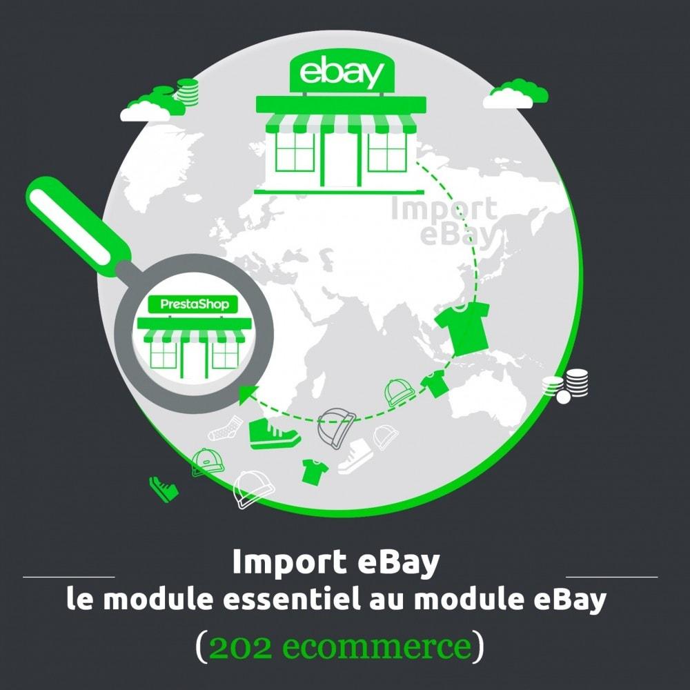 module - Places de marché (marketplaces) - Import eBay, le module essentiel au module eBay - 1