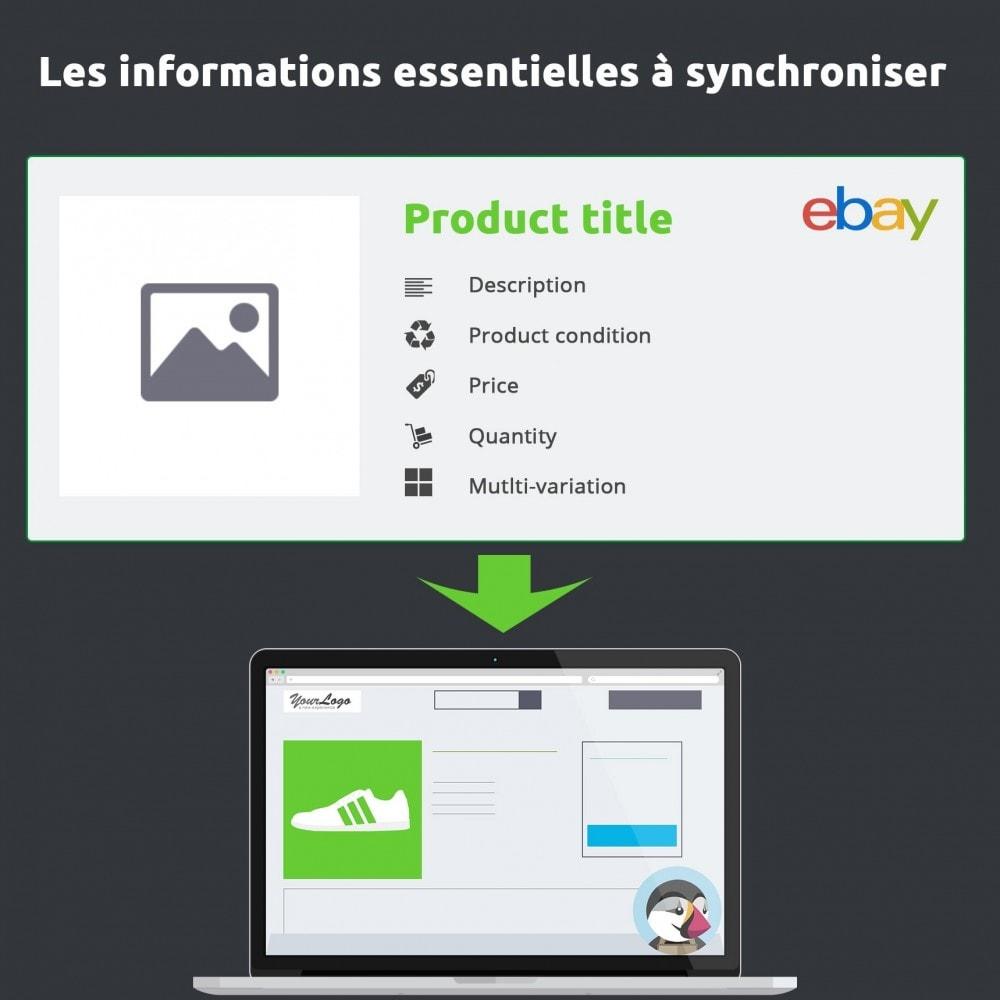 module - Places de marché (marketplaces) - Import eBay, le module essentiel au module eBay - 3