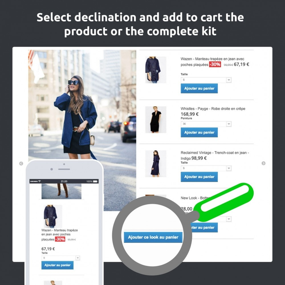 module - Visual Products - Lookbook - Staging your catalog (fashion, deco…) - 2