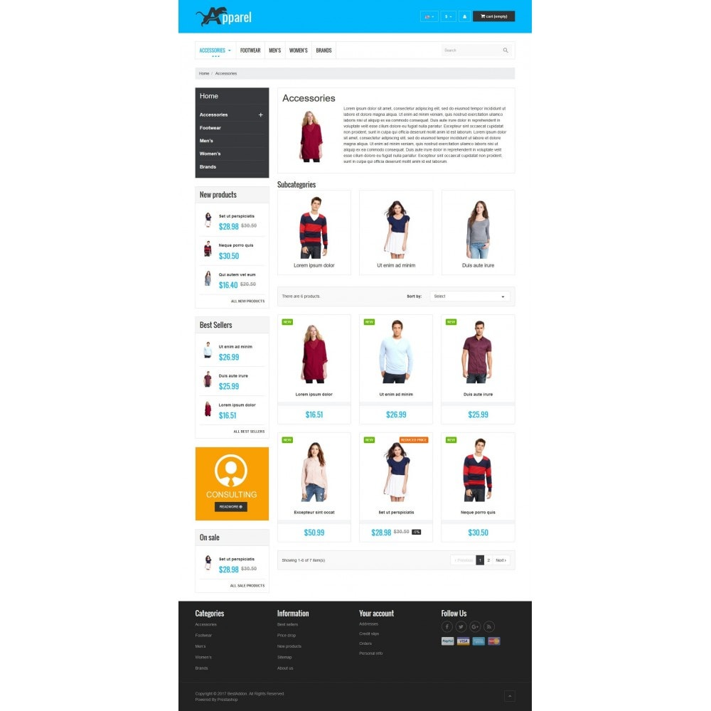 theme - Mode & Chaussures - VP_Apparel Store - 3