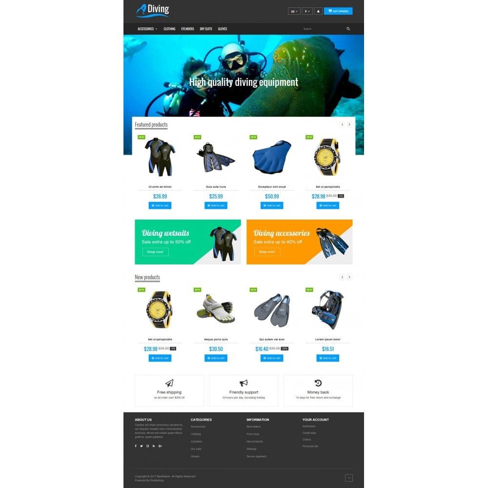 theme - Desporto, Actividades & Viagens - VP_Diving Store - 2