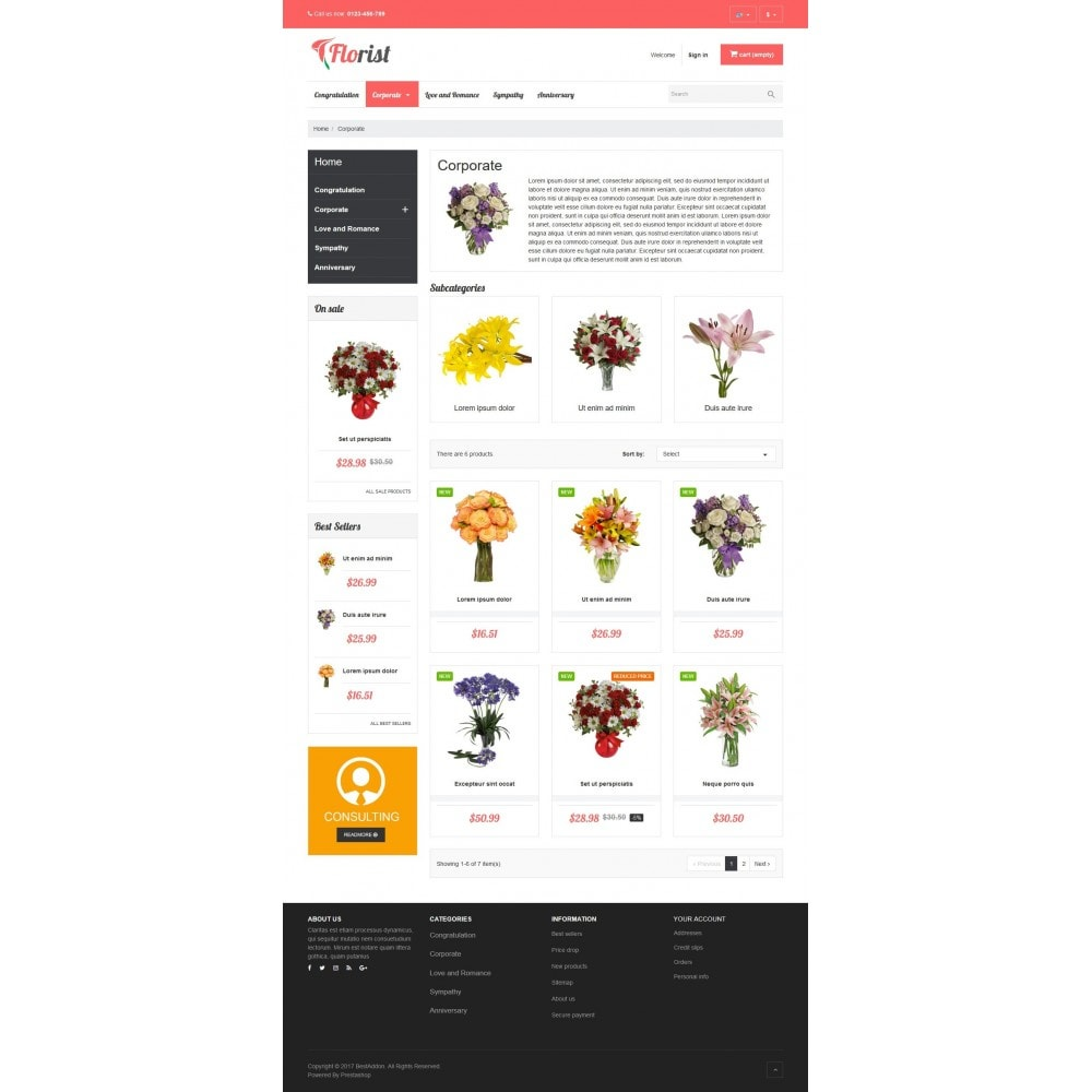 theme - Gifts, Flowers & Celebrations - VP_Florist Store - 3