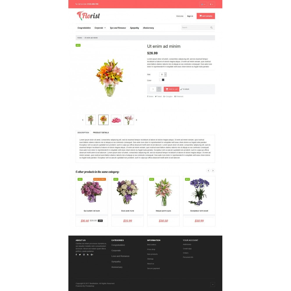 theme - Gifts, Flowers & Celebrations - VP_Florist Store - 4