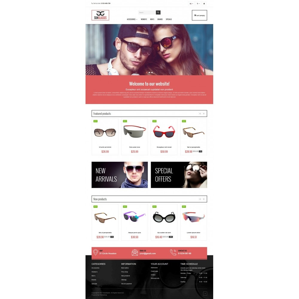 theme - Jewelry & Accessories - VP_SunGlasses Store - 2