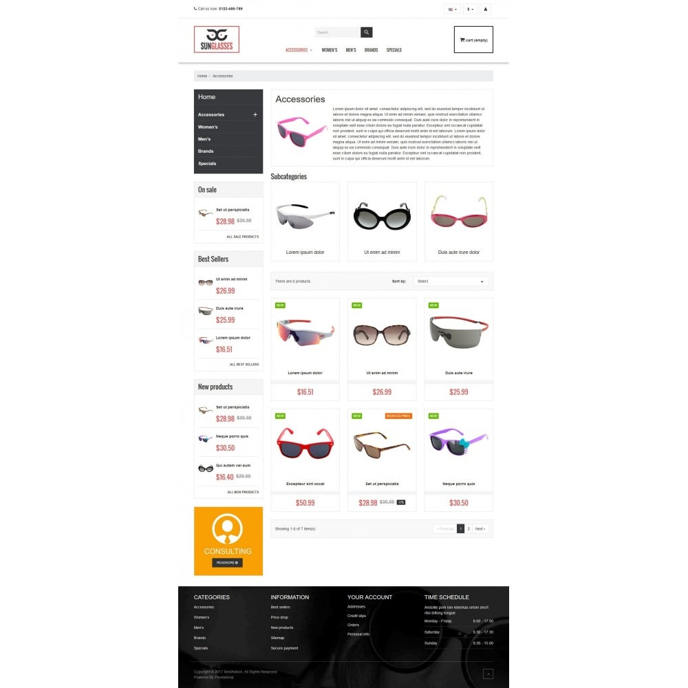theme - Jewelry & Accessories - VP_SunGlasses Store - 3