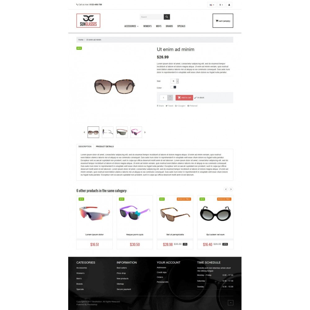 theme - Jewelry & Accessories - VP_SunGlasses Store - 4