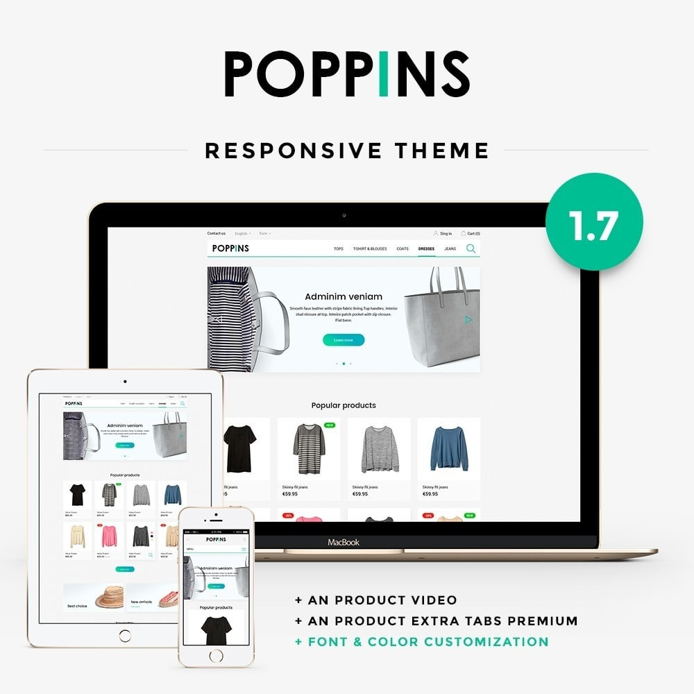theme - Moda & Calçados - Poppins Fashion Store - 1