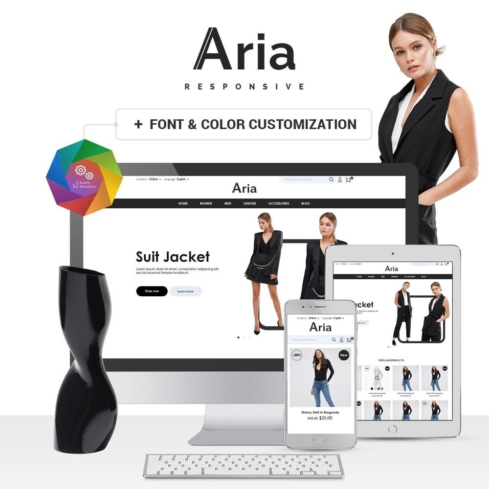 theme - Mode & Chaussures - Aria Fashion Store - 1