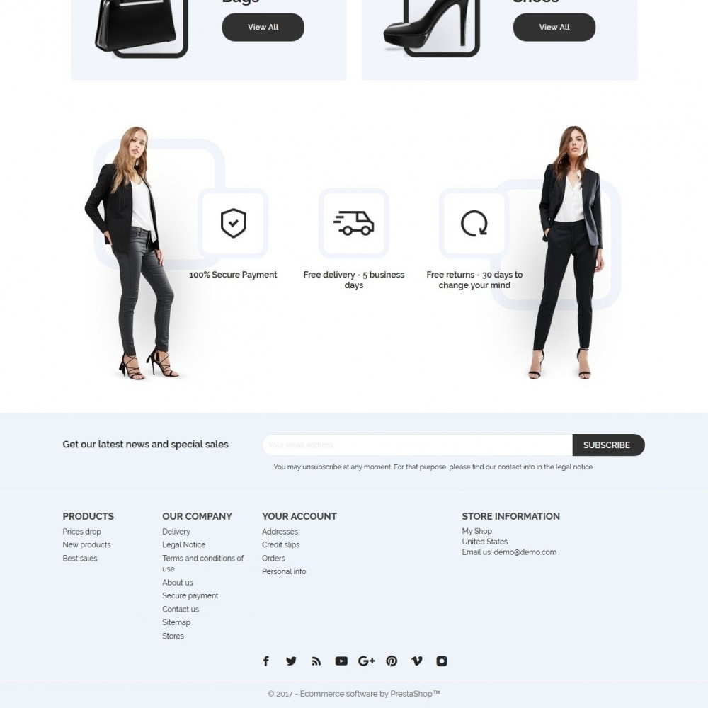 theme - Mode & Chaussures - Aria Fashion Store - 4