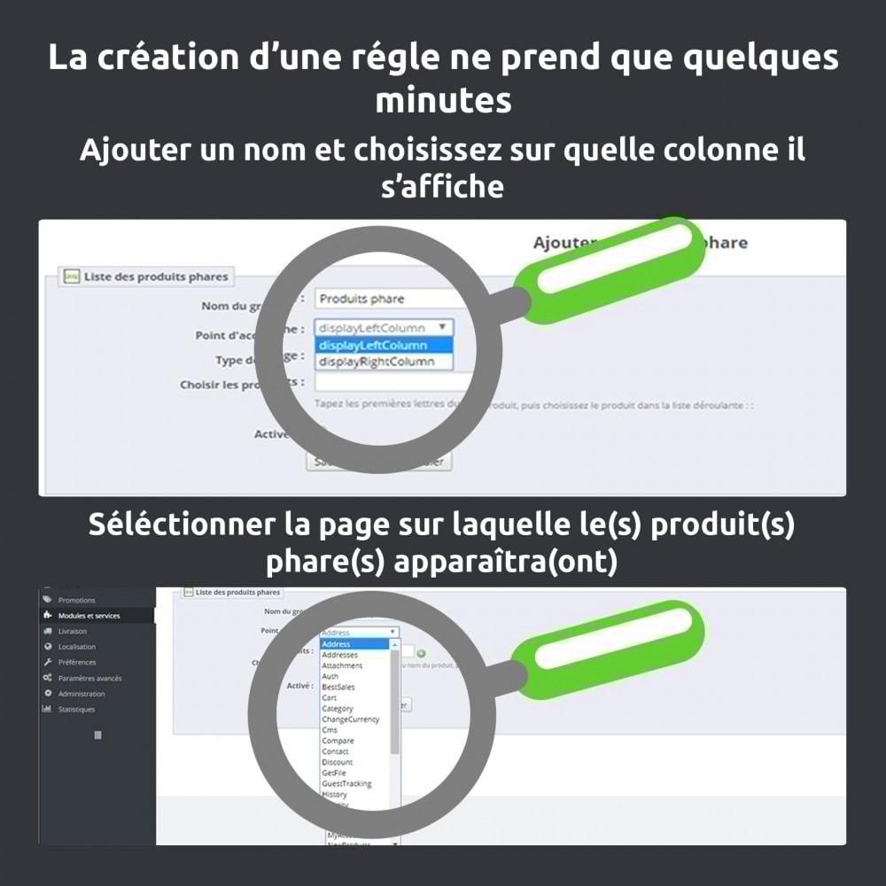 module - Produits en page d'accueil - Mise en avant produit (produit phare) toutes pages - 4