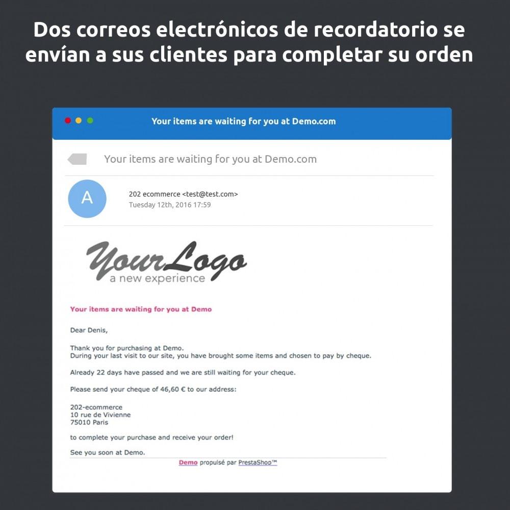 module - E-mails y Notificaciones - Recordatorio de pago - 3