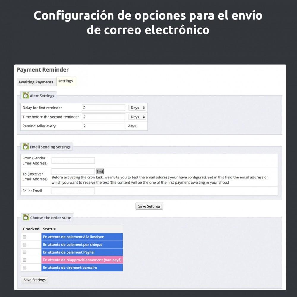 module - E-mails y Notificaciones - Recordatorio de pago - 6