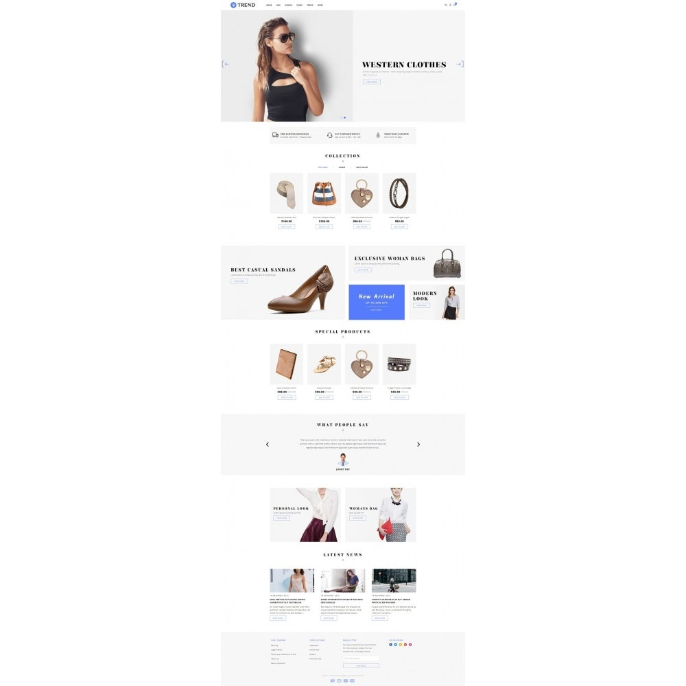 Trend - Fashion Store