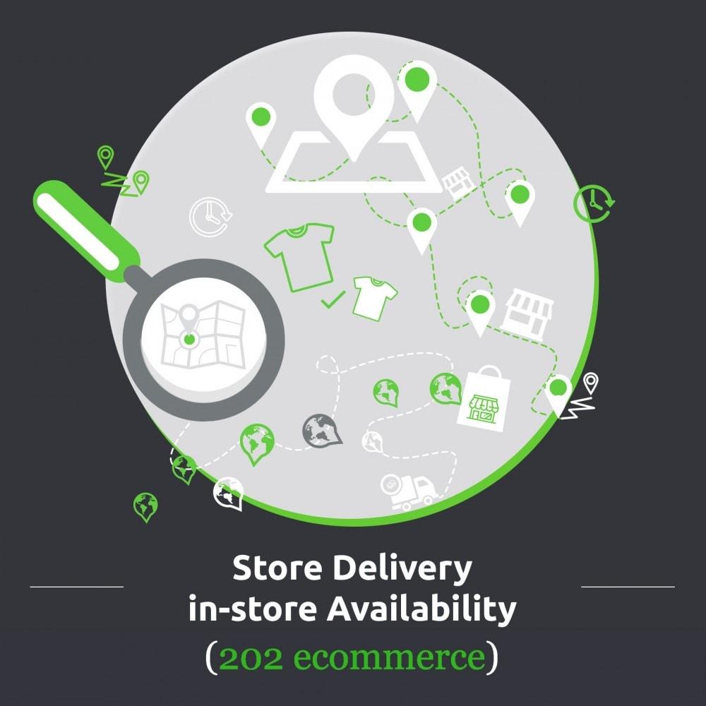 module - Пункты выдачи и Получение в магазине - Store Delivery: In-store Availability, Pickup at Store - 1