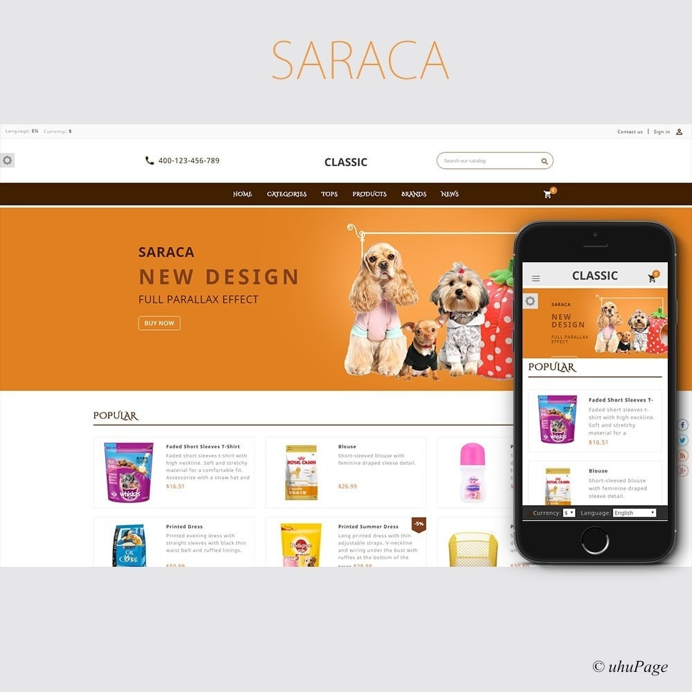 theme - Animali - Saraca Pet Store - 1