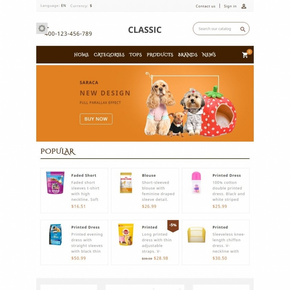 theme - Animali - Saraca Pet Store - 7