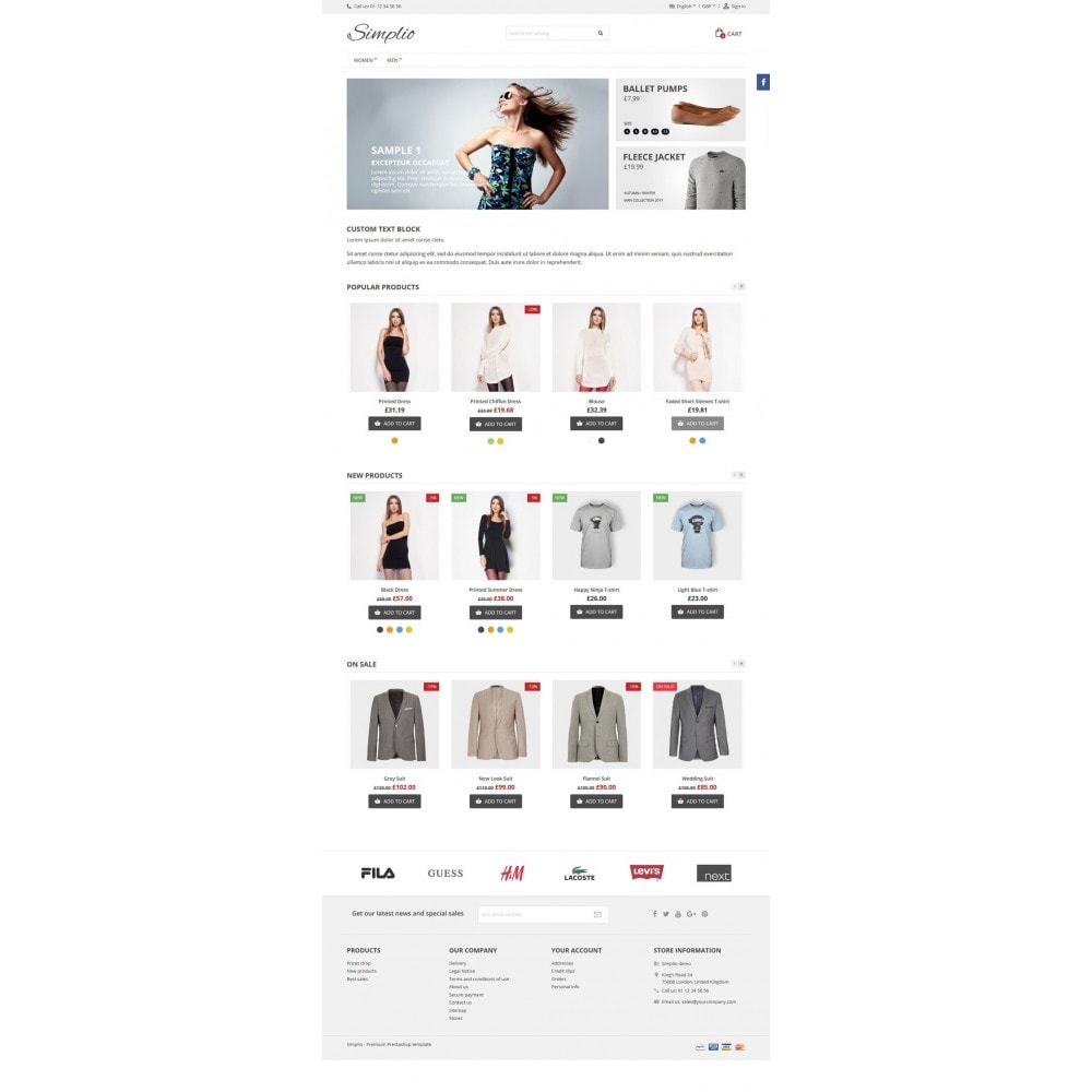 theme - Moda & Calzature - Simplio - 5