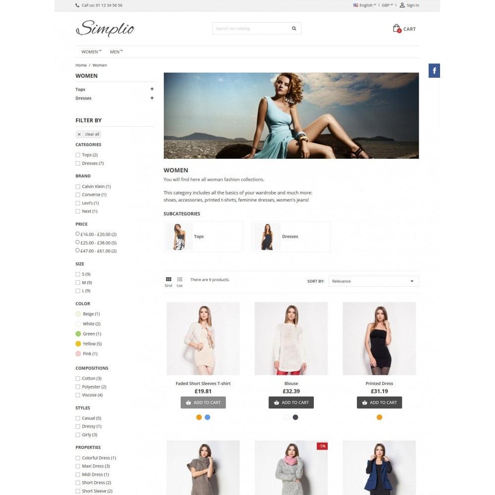 theme - Moda y Calzado - Simplio - 7