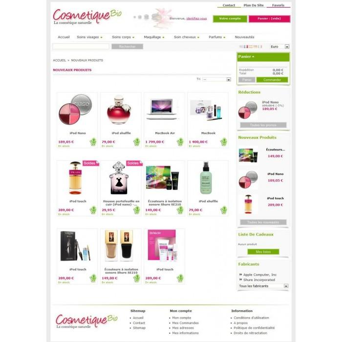 theme - Bio & Salute - CosmetiqueBio - 2