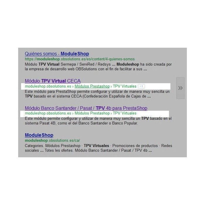 module - SEO - Google Rich Snippets Breadcrumbs [schema.org markup] - 1