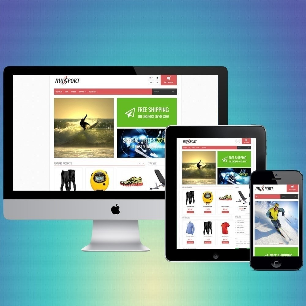 theme - Sport, Rozrywka & Podróże - VP_MySport Store - 1