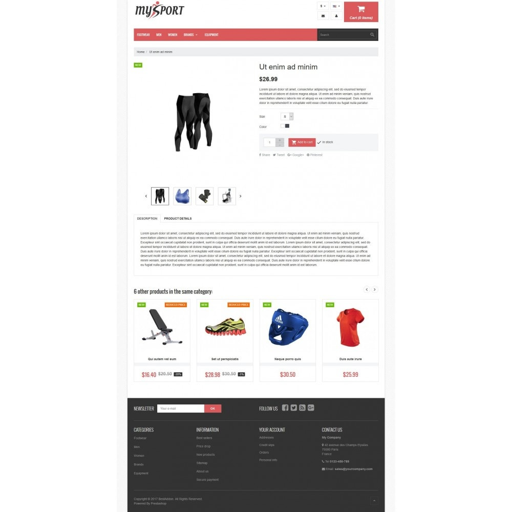 theme - Sports, Activities & Travel - VP_MySport Store - 4